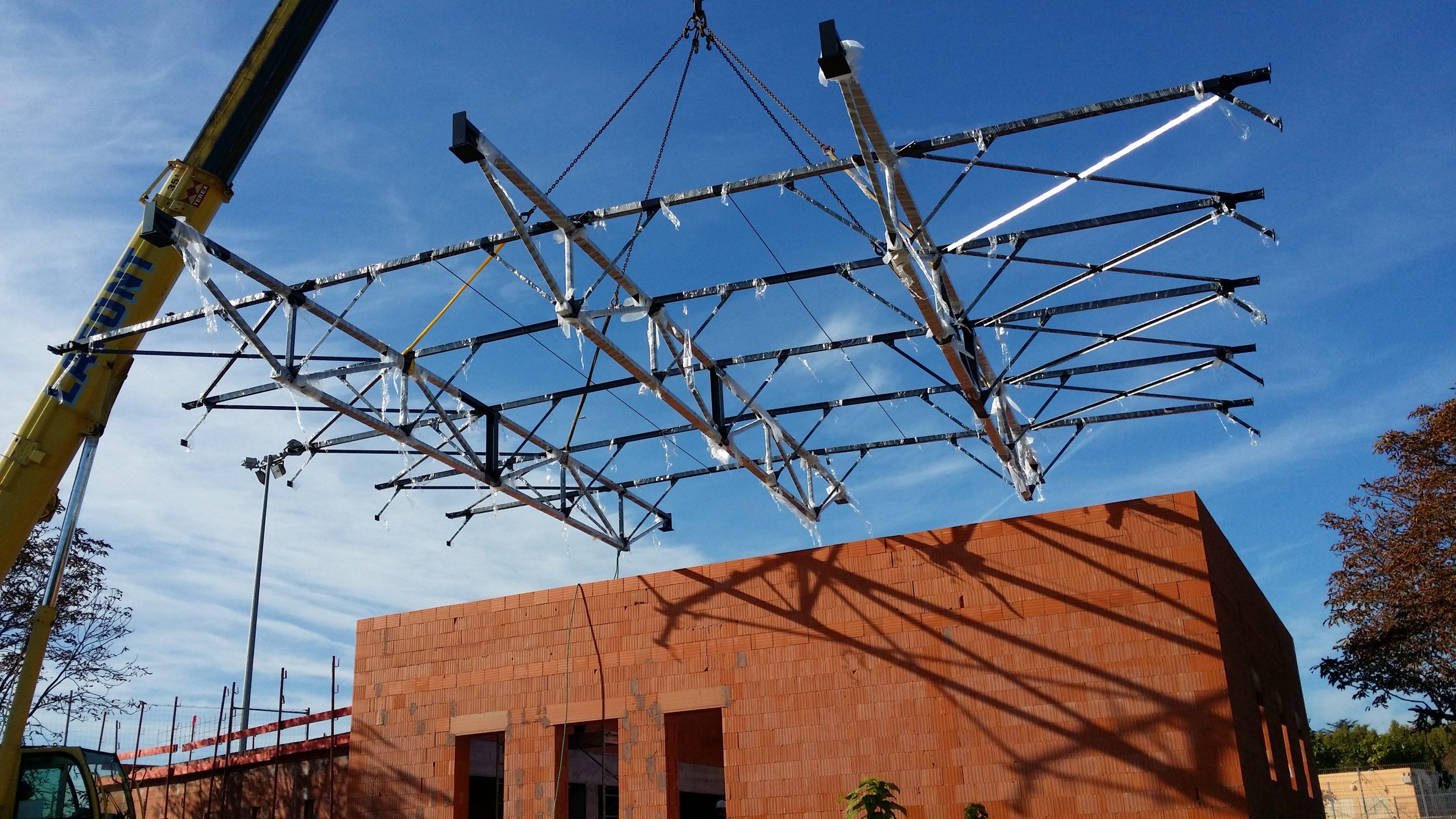 Création charpente pour toiture – Aix en Provence (13)