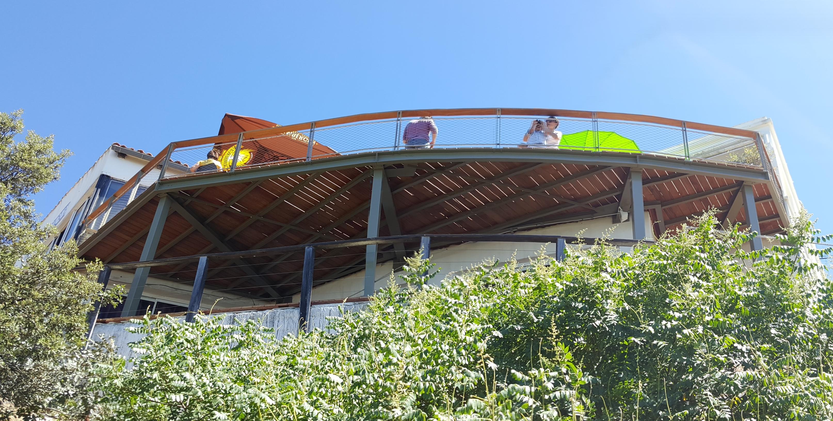 Extension/Création terrasses gare haute du Mont Faron – Toulon (83)
